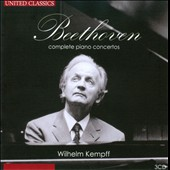 Beethoven: Complete Piano Concerto / Wilhelm Kempff, piano