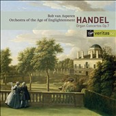 Handel: Organ Concertos Op. 7 / Bob van Asperen, organ