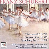 Schubert: Rosamunde, Symphony no 3, etc / SWF Symphony