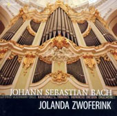 J. S. Bach: Organ Works, Vol. 1 / Jolanda Zwoferink, organ