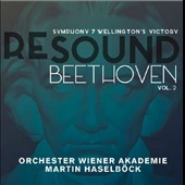 Re Sound: Beethoven, Vol. 2 - Symphony No. 7; Wellington's Victory; Pleyel: Jubel March; Dussek: The Brunswick March / Orchester Wiener Akademie, Haselbock
