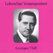 Lebendige Vergangenheit - Georges Thill