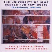 University of Iowa Center for New Music - 25th Anniversary