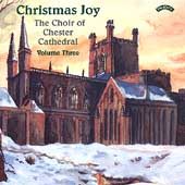 Christmas Joy Vol 3 /Poulter, Chester Cathedral Choir, et al