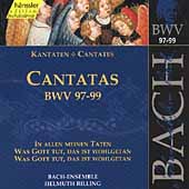 Edition Bachakademie Vol 31 - Cantatas BWV 97-99 / Rilling