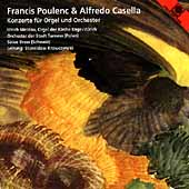 Poulenc, Casella: Organ Concertos / Ulrich Meldau, et al