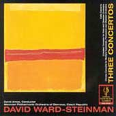 Ward-Steinman: Three Concertos / Colf, Amos, Bakunin, et al