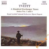 Tveitt: A Hundred Hardanger Tunes Suites / Engeset, et al