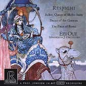 Respighi: Pines of Rome, etc / Eiji Oue, Minnesota Orchestra