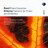 Ravel: Piano Concertos;  Debussy / Jordan, Queffelec