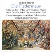 Strauss: Die Fledermaus / Krauss, Patzak, Guden, Lipp, et al