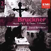 Gemini - Bruckner: Masses, Te Deum, Motets / Barenboim