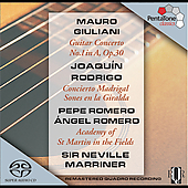 Giuliani, Rodrigo: Guitar Concertos / P. & A. Romero, et al