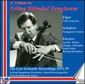 A Tribute to Erling Blondal Bengtsson - Elgar: Cello Concerto; works by Schubert, Corelli, Weber, Prokofiev et al/ Erling Blondal Bengtsson, cello