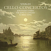 Vivaldi: Cello Concertos / King, Cohen, King's Consort