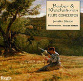 Barber, Khachaturian: Flute Concertos / Stinton, Bedford