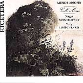 Mendelssohn: Cello Music / Sudzilovsky, Lisitchenko