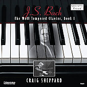 Bach: Well Tempered Clavier Book 1 / Craig Sheppard