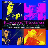 Romantic Treasures for Violin and Piano - Dvorak, Strauss, Debussy, Saint-Saëns / Schwartz, Chien