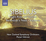 Sibelius: Nightride and sunrise, Belshazzar's Feast Suite, etc / Inkinen, New Zealand SO