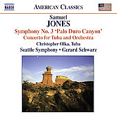 American Classics - Jones: Tuba Concerto, etc / Schwarz, Olka, et al