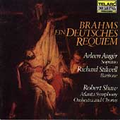 Classics - Brahms: German Requiem / Shaw, Aug&#233;r, et al