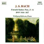 Bach: French Suites nos 3-6 / Wolfgang Rübsam