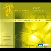 Schumann: An den Mond; Lieder / Gotthold Schwarz, bass