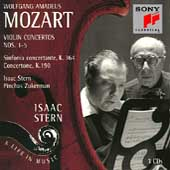 Isaac Stern - A Life in Music - Mozart: Violin Concertos 1-5