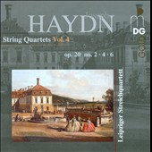 Haydn: String Quartets, Vol. 4 / Leipzig String Quartet