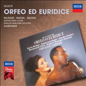 Gluck: Orfeo ed Euridice / McNair, Ragin, Sieden