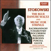 Stokowski conducts music for strings by J.Staruss, Borodin, Paganini, Rachmaninov, Handel, Purcell, Gluck et al. (rec. 1957-58)