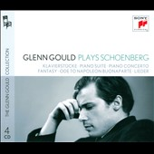 Schoenberg: Klavierstucke; Piano Suite; Piano Concerto; Fantasy; Ode to Napoleon Buonaparte; Lieder / Glenn Gould, piano