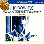 Horowitz Plays Prokofiev, Barber, Kabalevsky: Sonatas