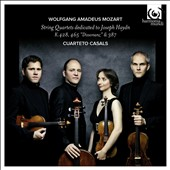 Mozart: String Quartets dedicated to Joseph Haydn - K.428, 465