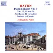 Haydn: Piano Sonatas Vol 9 / Jen&ouml; Jand&oacute;