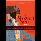 Le Mozart Noir: The Life and Music of Joseph Boulogne, Chevalier de Saint-Georges, film / Jeanne Lamon, Tafelmusik Baroque Orchestra [DVD Video + CD]