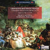 Viotti: Violin Concertos Vol 7 / Mezzena, Symphonia Perusina