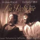Puccini: La Boh&#232;me / Mehta, Bocelli, Frittoli, et al