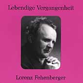Lebendige Vergangenheit - Lorenz Fehenberger