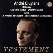 Debussy: Children's Corner, etc / Cluytens, ORTF National