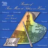 Rarities of Piano Music at Schloss vor Husum - Liszt, et al