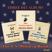 Three Hit Albums from the U.S. Military Bands