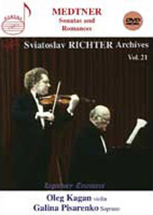 Medtner: Music For Violin & Piano - Sonatas & Romances;