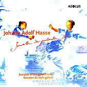 Hasse: Sonatas of the Galant Time / Umbach & Consorten