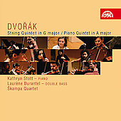 Dvor&#225;k:  Piano Quintet No 2, String Quintet B 49