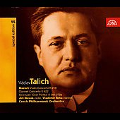 V&#225;clav Talich Special Edition Vol 15 - Mozart: Concertos