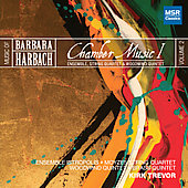 Barbara Harbach, Volume 2 - Chamber Music I