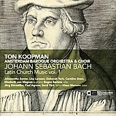 Bach: Latin Church Music Vol 1 / Koopman, Mertens, Amsterdam Baroque Orchestra, et al