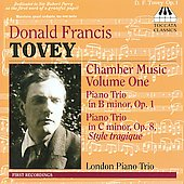 Tovey: Chamber Music Vol 1 / London Piano Trio